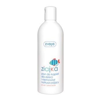 Ziajka, płyn do kąpieli dla dzieci i niemowląt, natłuszczający, od 1 dnia życia, 370 ml