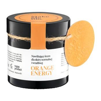 Make Me Bio, nawilżający krem do skóry normalnej i wrażliwej, Orange Energy, 60 ml