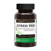 STRESS END Ashwagandha + Różeniec, kapsułki, 60 szt.