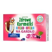 Zdrowe Karmelki MniamMniam na gardło, tabletki, 40 g x 10 szt.
