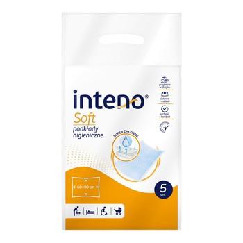 Inteno Soft Podkłady higieniczne, 60 x 90 cm, 5 szt.