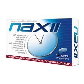 Naxii, 220 mg, tabletki powlekane, 10 szt.