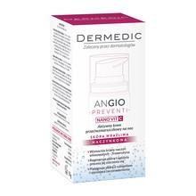 Dermedic Angio Preventi, aktywny krem przeciwzmarszczkowy na noc, z witaminą C, 55 g