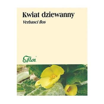 Kwiat dziewanny, zioło pojedyncze, 50 g (Flos)