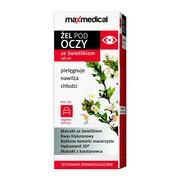 Maxmedical, żel pod oczy ze świetlikiem, roll-on, 15 ml