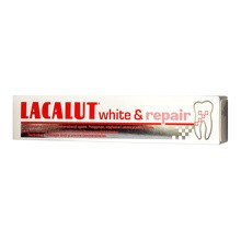 Lacalut, white & repair, pasta do remineralizacji zębów, 75 ml