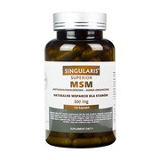 Singularis MSM, 500 mg, kapsułki, 120 szt.