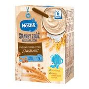 """Nestle Skarby Zbóż, kaszka mleczna owsiano-pszenno-żytnia """"owsianka"""" po 6. miesiącu, 250 g"""