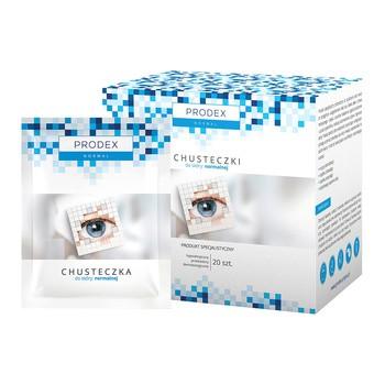 Prodex Normal, chusteczki do skóry normalnej, 20 szt