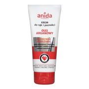 Anida, krem do rąk i paznokci z olejkiem arganowym, 100 ml
