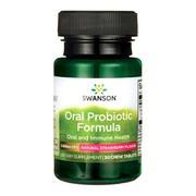Swanson Probiotyczna formuła jamy ustnej,smak truskawkowy ,tabletki, 30 szt.