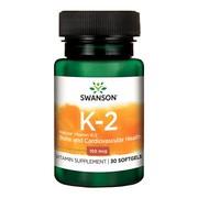 Swanson Witamina K2, 100 µg, kapsułki, 30 szt.