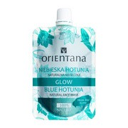 Orientana, naturalna maseczka Glow Niebieska Hotunia, 30 ml