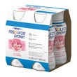 Resource Protein, płyn, smak truskawkowy, 4 x 200 ml