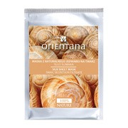 Orientana, maska z naturalnego jedwabiu, śluz ślimaka, 1 szt.