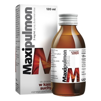 Maxipulmon, 3 mg/ml, syrop, 120 ml