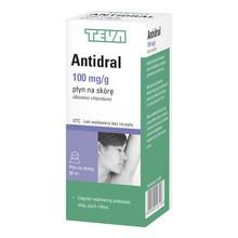 Antidral, płyn na skórę, (100 mg / g), 50 ml