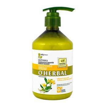 O`Herbal, odżywka zwiększająca objętość cienkich włosów, ekstrakt z arniki, 500 ml