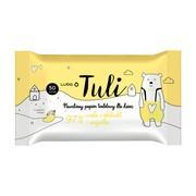 Luba Tuli, nawilżany papier toaletowy 97% woda i ekstrakt z nagietka, 50 szt.