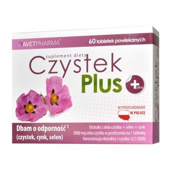Czystek Plus, tabletki powlekane, 60 szt.