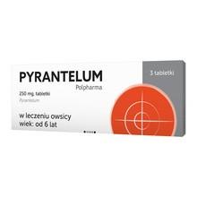 Pyrantelum Polpharma, 250 mg, tabletki, 3 szt.
