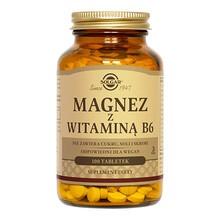 Solgar Magnez z witaminą B6, tabletki, 100 szt.