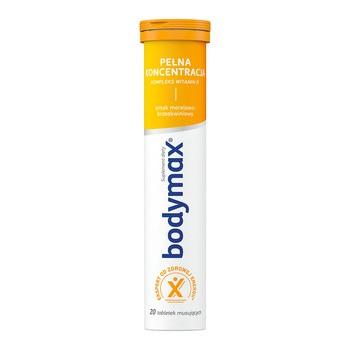 Bodymax Pełna Koncentracja, tabletku musujące, 20 szt.