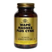 Solgar Wapń Magnez plus Cynk, tabletki, 100 szt.