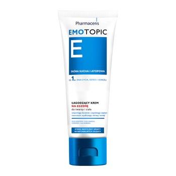 Pharmaceris E Emotopic, łagodzący krem na egzemę, do twarzy i ciała, 75 g