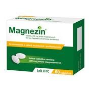 Magnezin, 130 mg jonów magnezowych, tabletki, 60 szt.