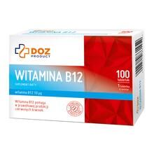 DOZ PRODUCT Witamina B12, tabletki powlekane, 100 szt.