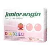 Junior angin, tabletki na gardło, 36 szt.