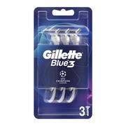 Gillette Blue3 Comfort, maszynka jednorazowa dla mężczyzn, 3 szt.