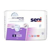 Seni Active Plus, majtki chłonne, rozmiar S, 10 szt.