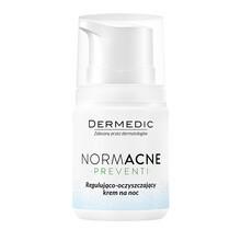 Dermedic Normacne Preventi, regulująco-oczyszczający krem na noc, 55 g