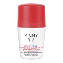 Vichy Stress Resist, antyperspirant 72h, intensywna kuracja przeciw poceniu się, 50 ml