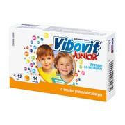 Vibovit Junior o sm.pomarańczowym, proszek w saszetkach, 2 g, 14 szt.