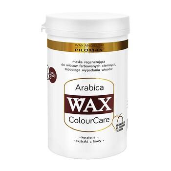 WAX angielski PILOMAX ColourCare Arabica, maska regenerująca do włosów farbowanych na kolory ciemne, 480 ml