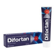 Difortan, 100 mg/g, żel, 50 g