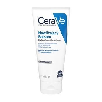 CeraVe, nawilżający balsam z ceramidami dla skóry suchej i bardzo suchej, 177 ml