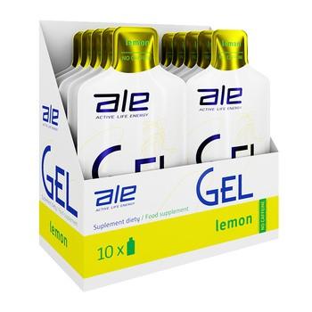 Zestaw ALE Active Life Energy, Gel Lemon, 10 szt.