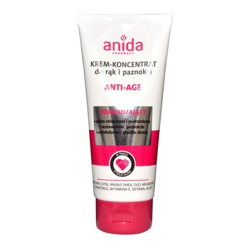Anida Anti-Age, krem-koncentrat do rąk i paznokci, 100 ml