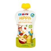 HiPP HiPPiS BIO, mus jabłka, gruszki, banany, po 6. miesiącu, 100 g