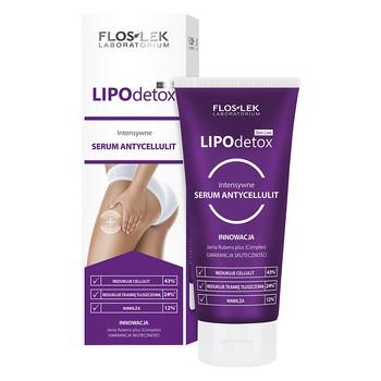 FlosLek Laboratorium Slim Line LipoDetox, intensywne serum antycellulitowe, 200 ml