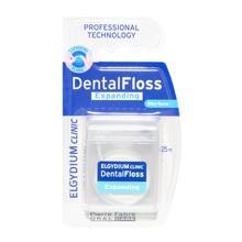 Elgydium Dental Floss, nici dentystyczne, pęczniejące, miętowe, 25 m