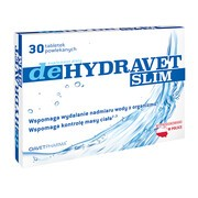 Dehydravet Slim, tabletki powlekane, 30 szt.