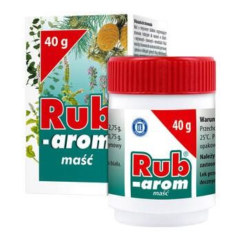 Rub-Arom, maść, 40 g (słoik)