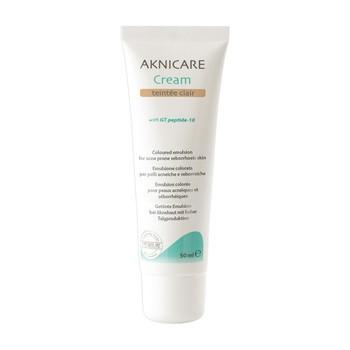 Aknicare Cream Teintee Clair, krem koloryzujący do skóry tłustej i trądzikowej, 50ml