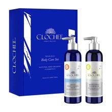 Zestaw Promocyjny Clochee Body Care Set, orzeźwiający olejek do mycia ciała + lekki balsam nawilżający, 250 ml + 250 ml