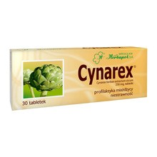 Cynarex, tabletki, 250 mg, 30 szt.